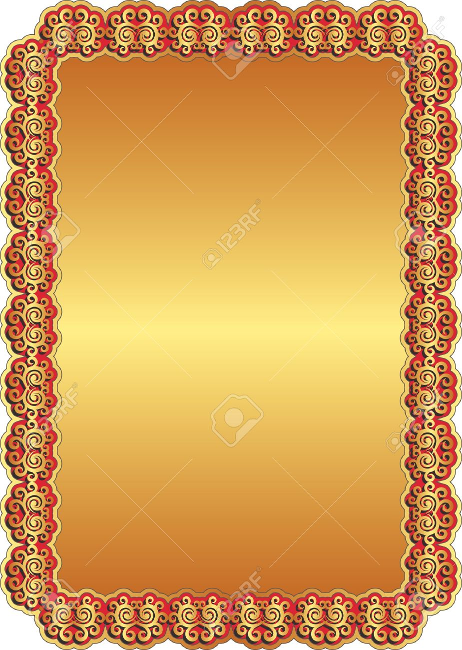 Golden Background Image Golden Background With Red