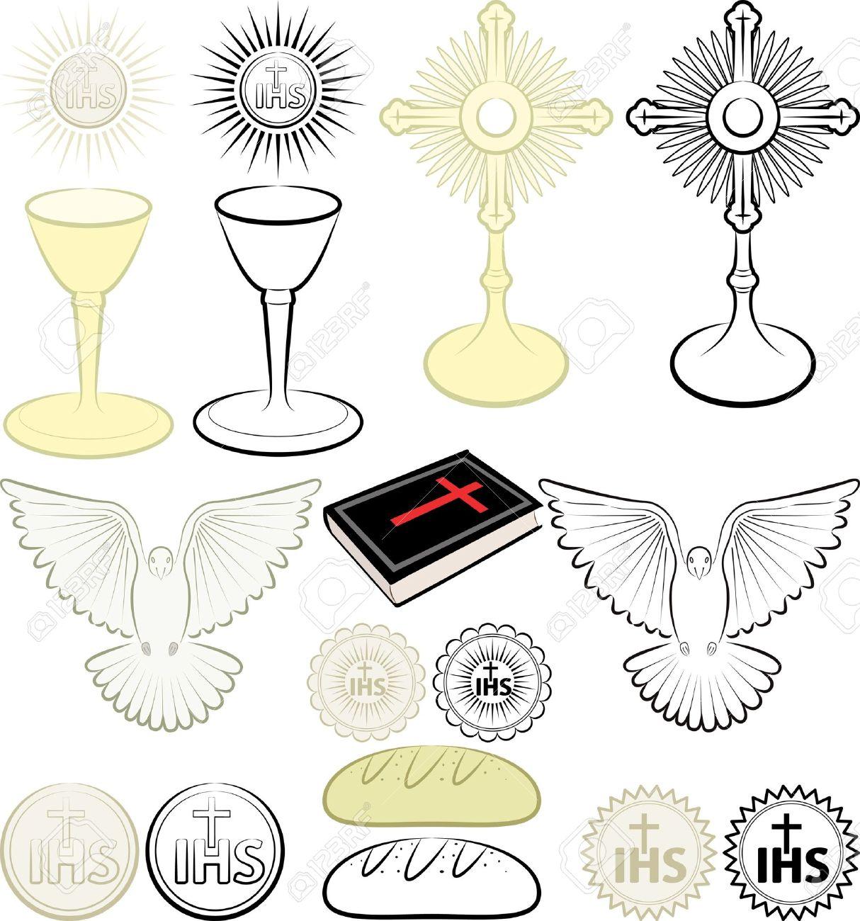 Symbols of the christian religion royalty free cliparts vectors symbols of the christian religion stock vector 15434982 biocorpaavc