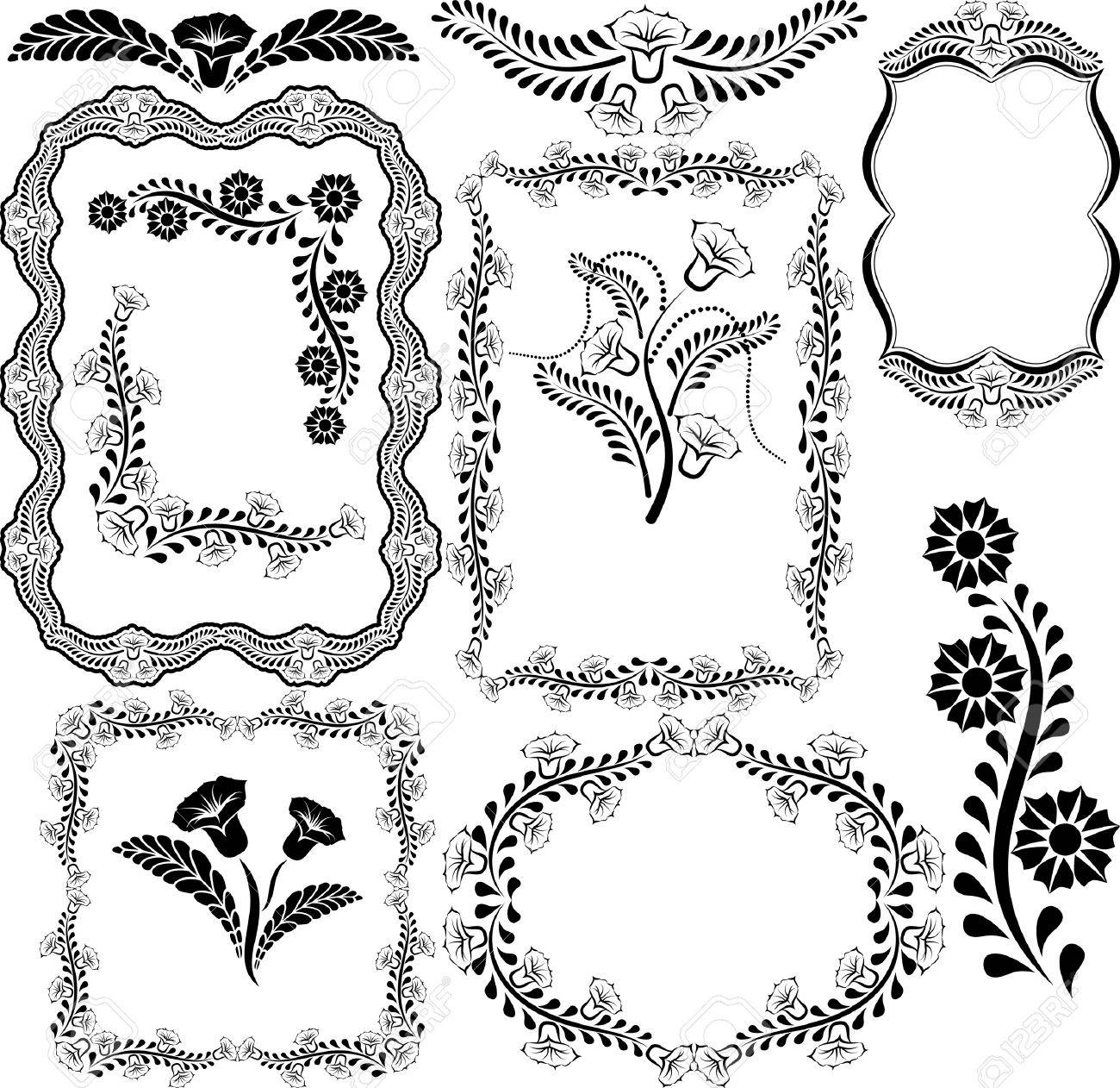 borders and frames - vector illustration Stock Vector - 16059333