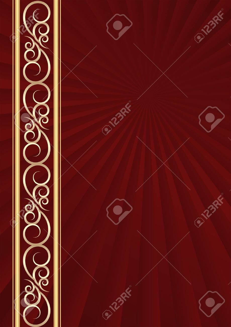 maroon background with golden ornaments royalty free cliparts vectors and stock illustration image 17168621 maroon background with golden ornaments