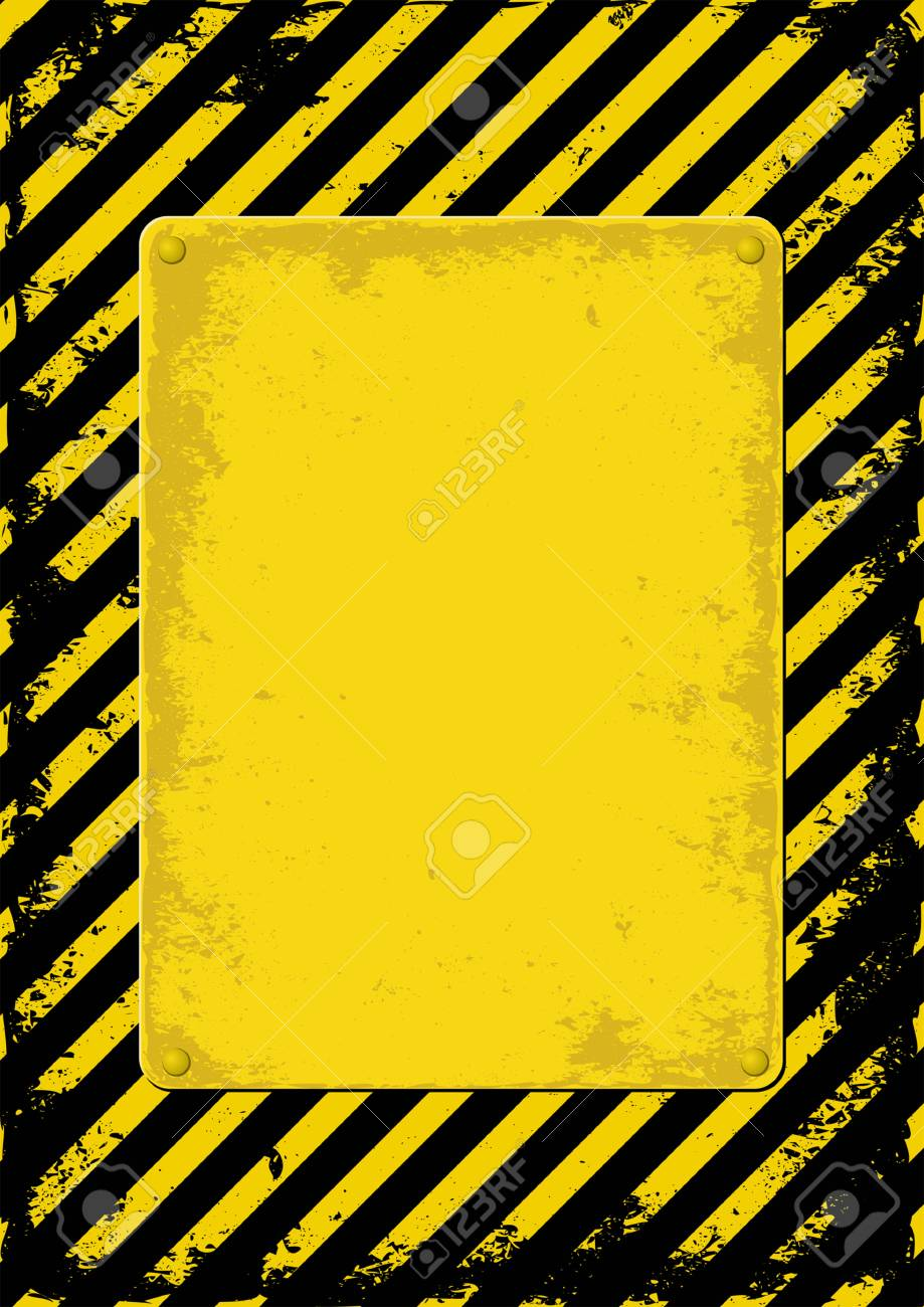 yellow and black grunge background Stock Vector - 29841658