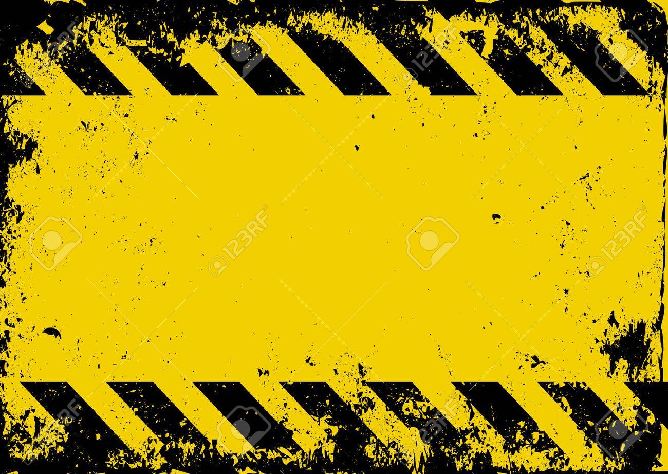 グランジ危険の背景のイラスト素材・ベクタ - Image 53936803.
