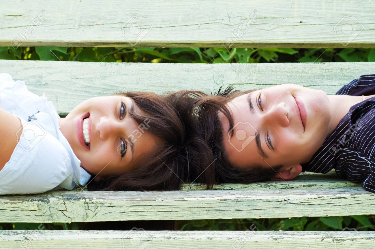 teenagers couple Stock Photo - 3479500