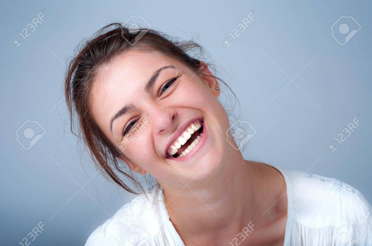 young woman smiling Stock Photo - 10673888
