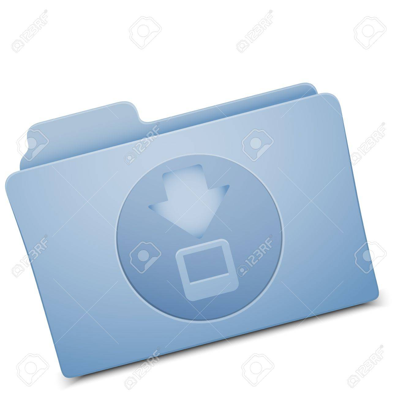 folder icon - image can be re-size to any limit Stock Vector - 12430801