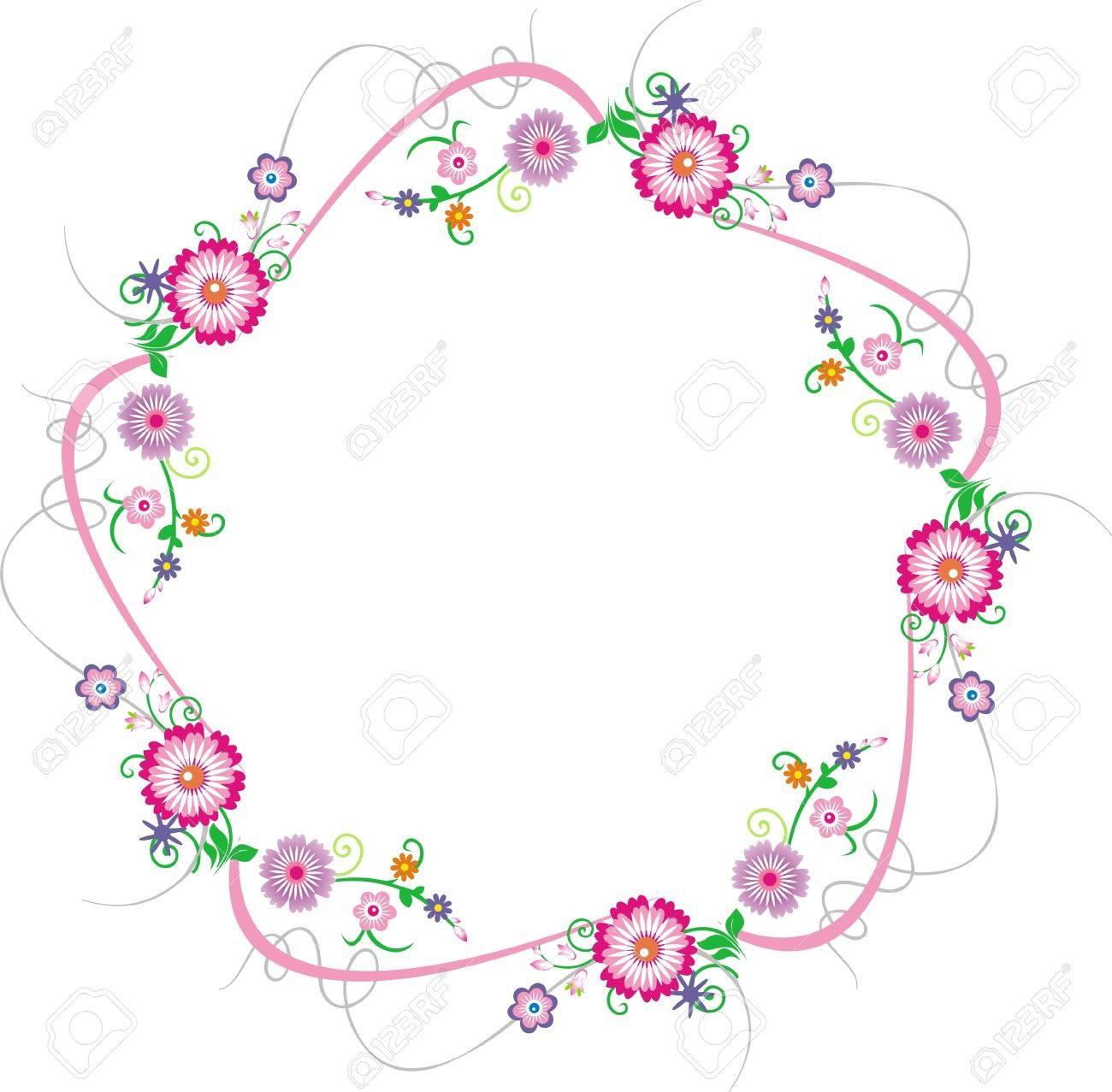 Flores Sobre Un Fondo Blanco Flores Tarjetas De Felicitación