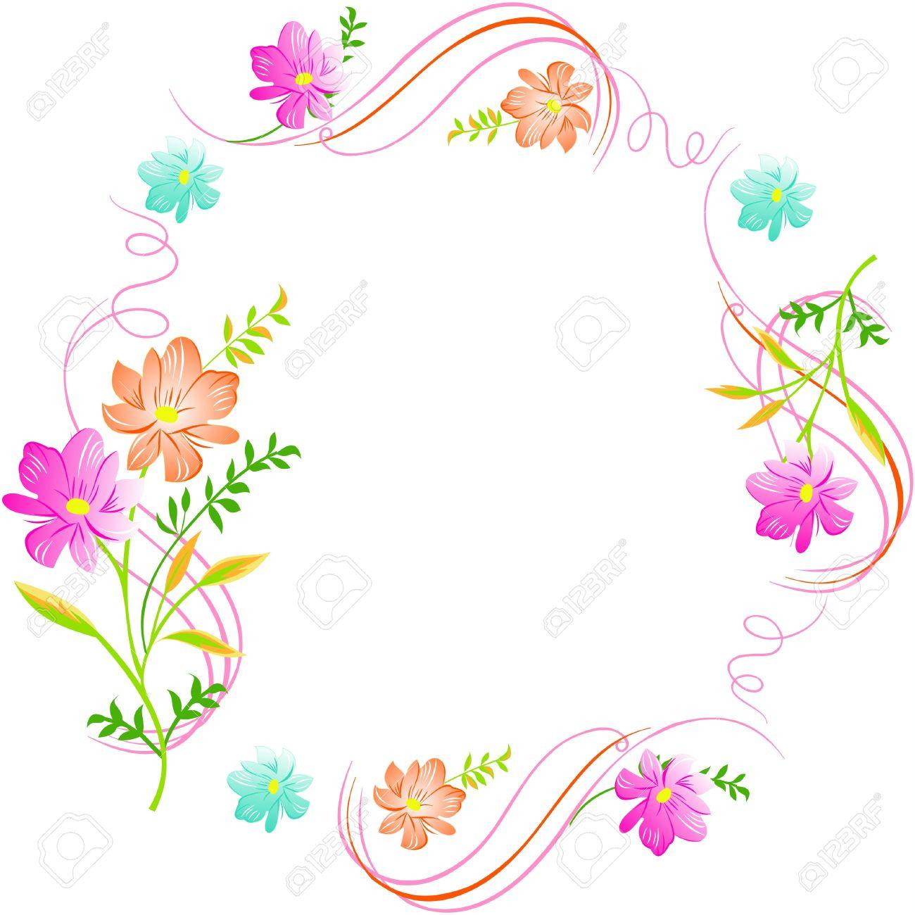 Las Flores Sobre Un Fondo Blanco Excelente Fondo Floral Sin Fisuras