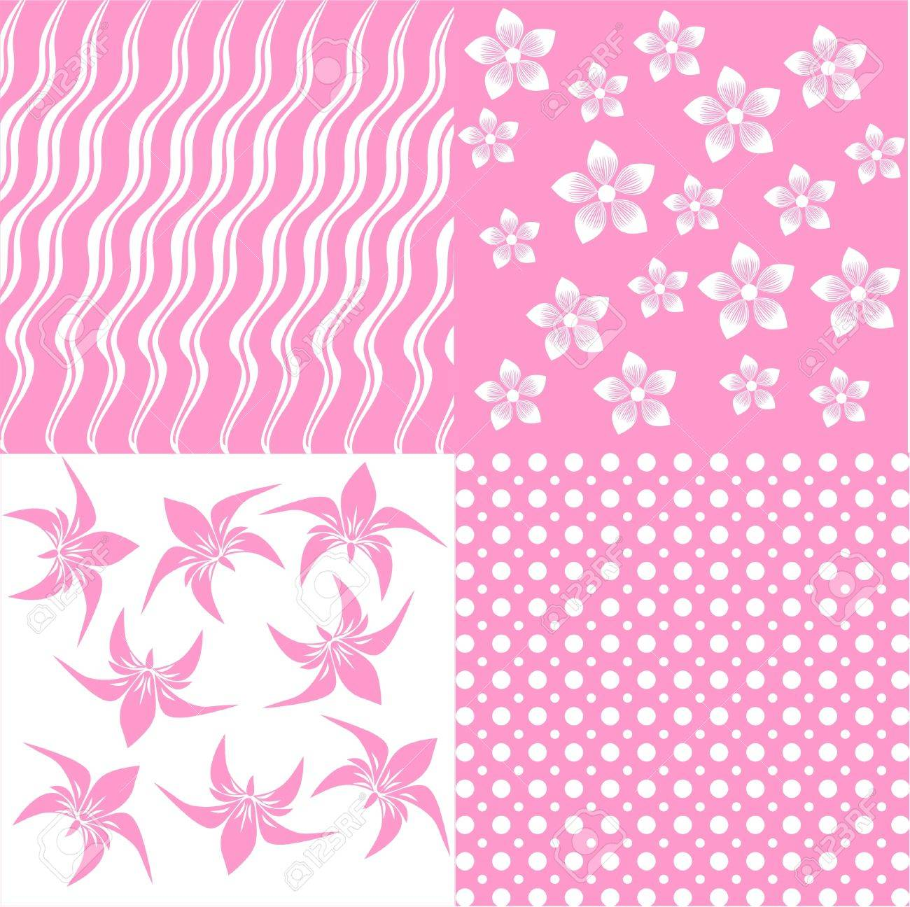floral seamless background Stock Vector - 14299321