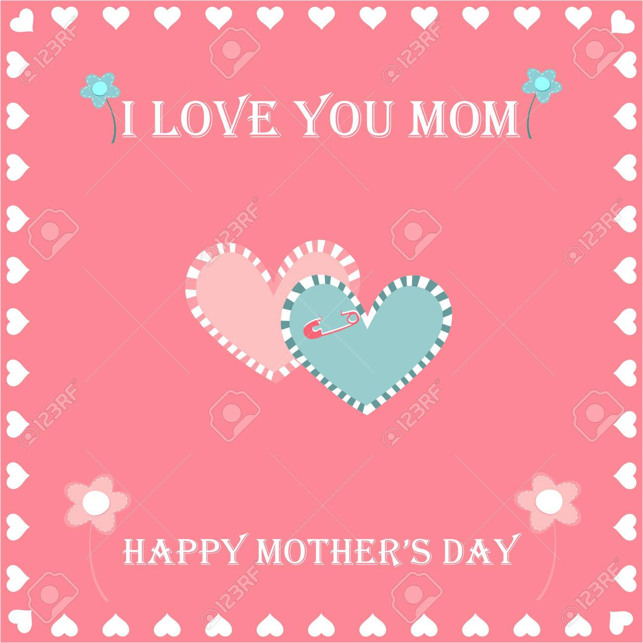 Happy Mothers Day Greeting Card Greeting Cards And Flowers