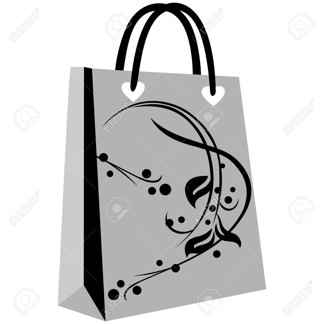 Paper Shopping Bags For Your Design, Cute Patterns To Shopping ...