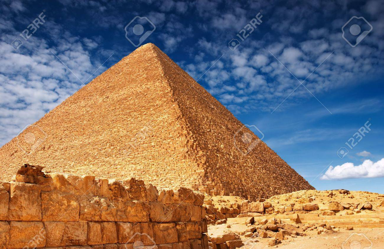 Egyptian pyramid Stock Photo - 1896696