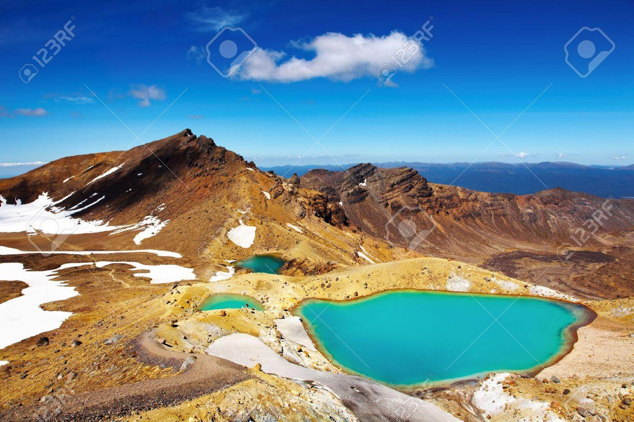 Emerald Lakes, Tongariro National Park, New Zealand - 5408200