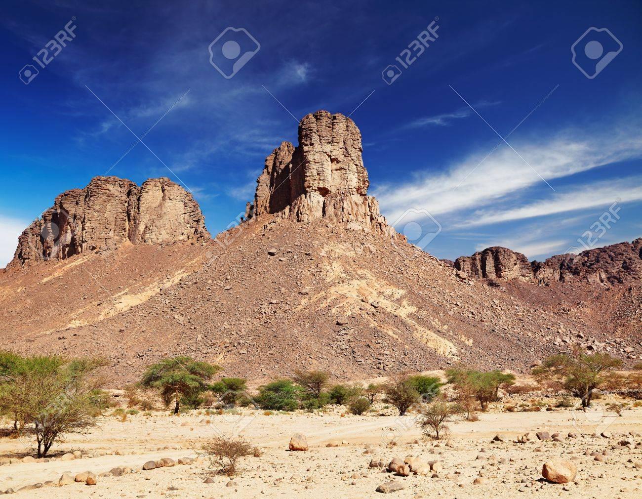 Rocks in Sahara Desert, Tassili N'Ajjer, Algeria Stock Photo - 8677723