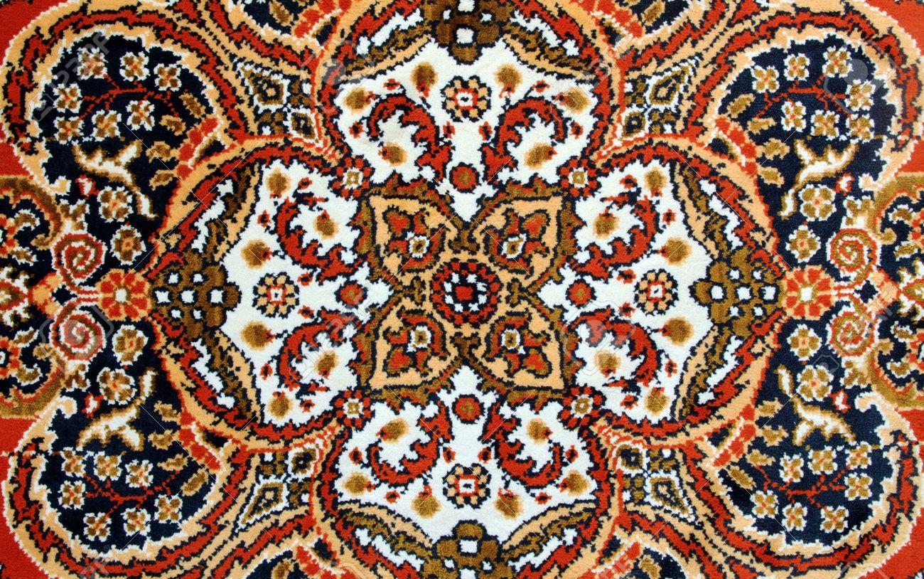 Teppich design textur  Textur Der Alten Türkischen Teppich Lizenzfreie Fotos, Bilder Und ...