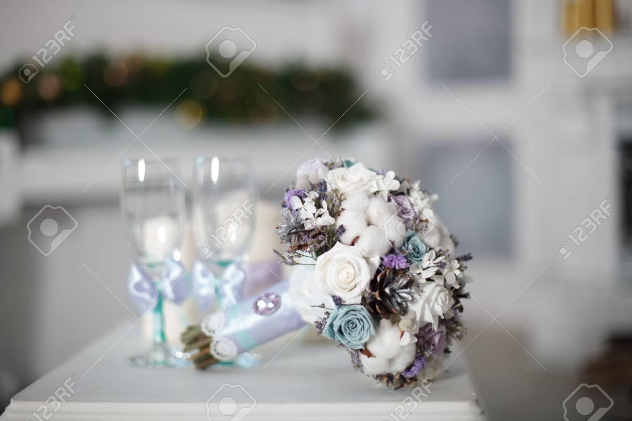 Winter Hochzeitsstrauss Hochzeitsblumenstrauss Von Den Blumen Die