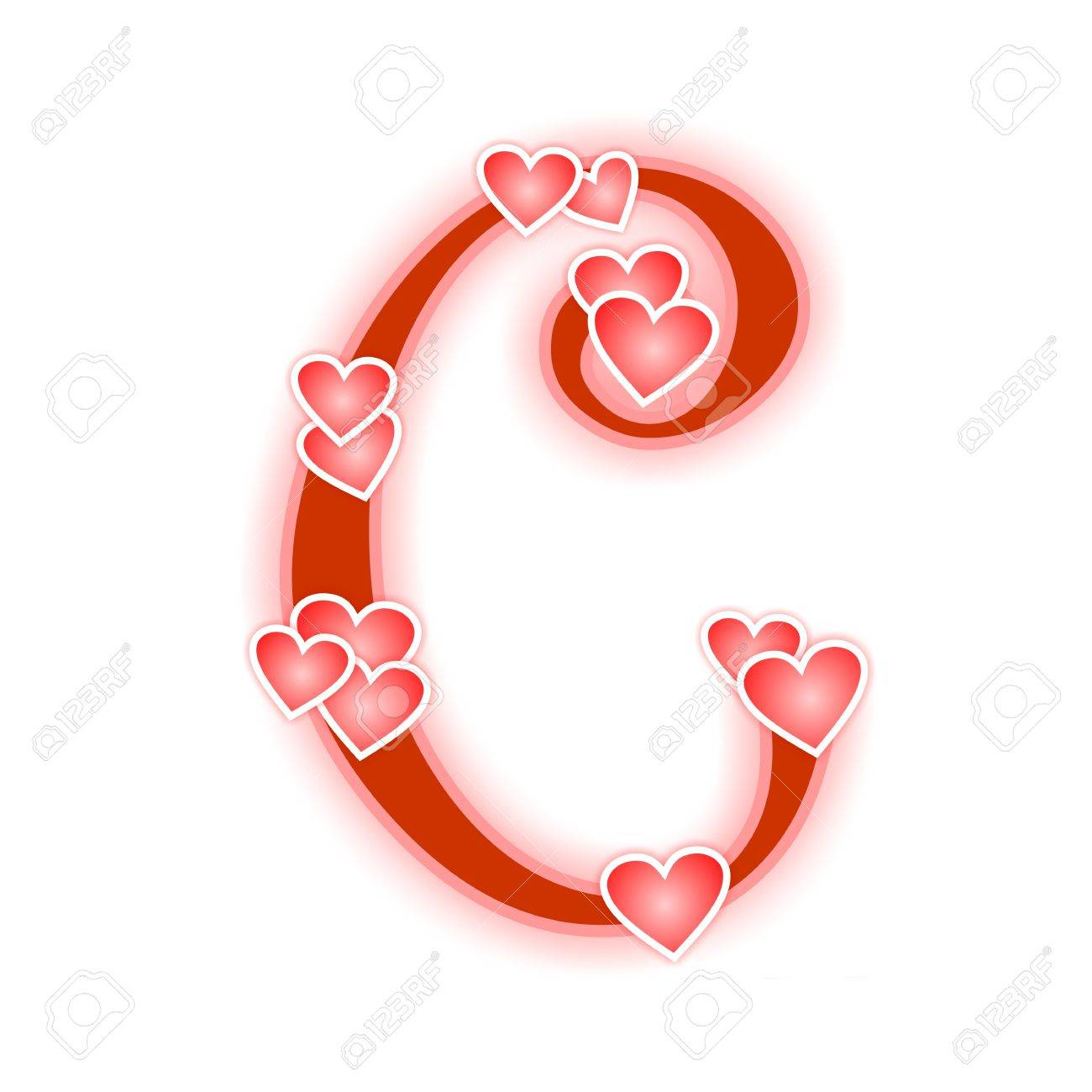 letter a in love