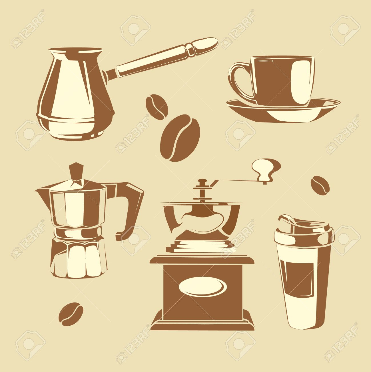 Vector Art - Coffee mill. hand drawn sketch style. vintage black vector  engraving illustration for label, web. isolated on white background. EPS  clipart gg85825707 - GoGraph