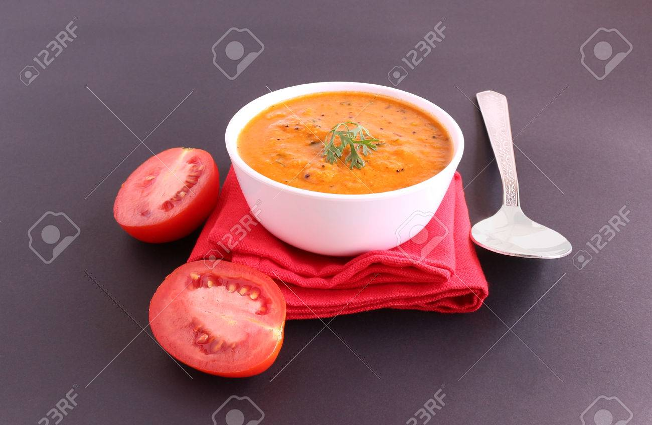 Indian Food Tomato Curry Which Is A Healthy Traditional And