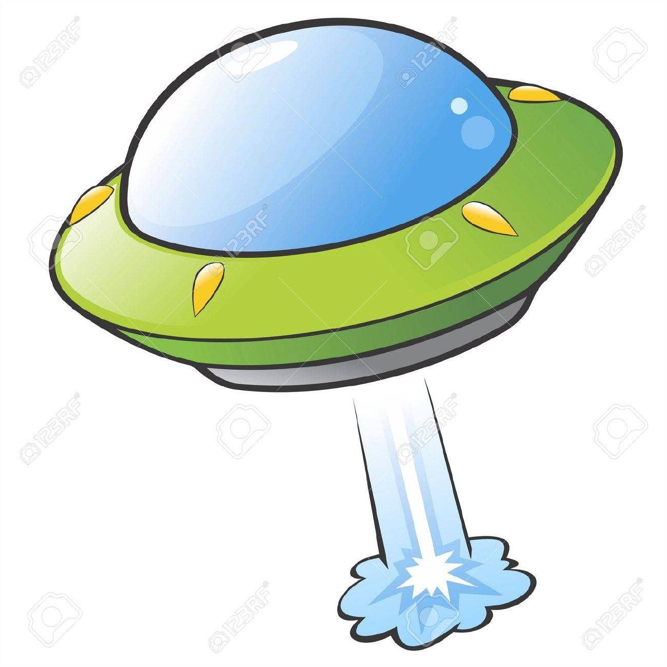 illustration of a cartoon flying saucer royalty free cliparts rh 123rf com flying saucer clipart black and white