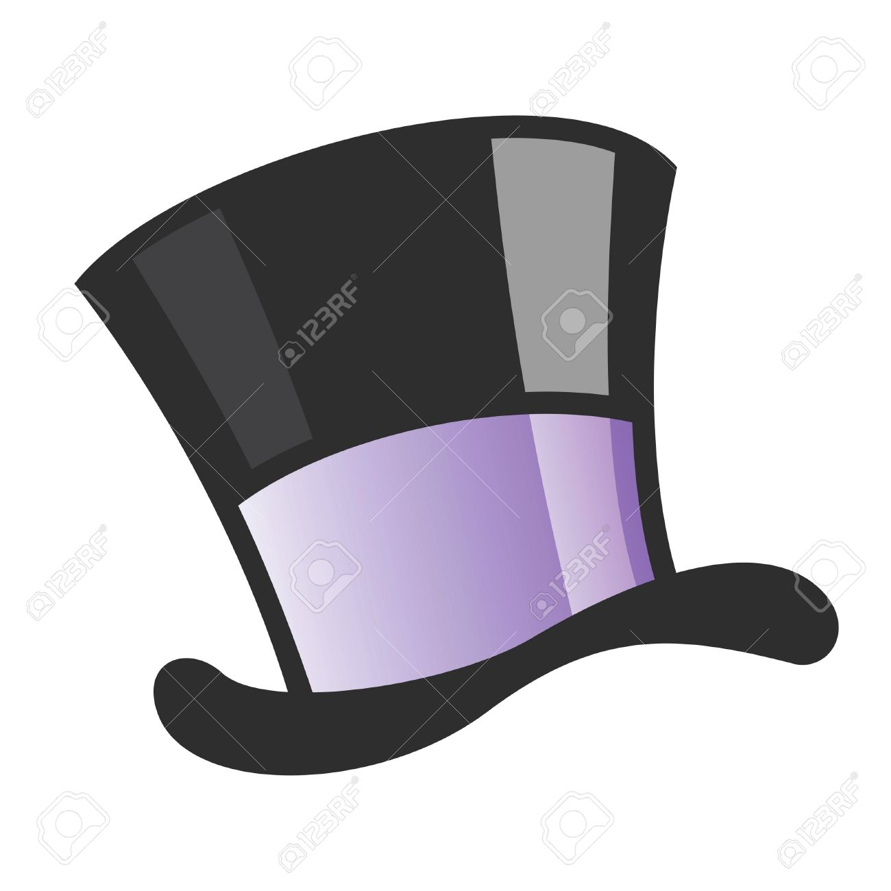 banque dimages vector illustration dun chapeau de magicien