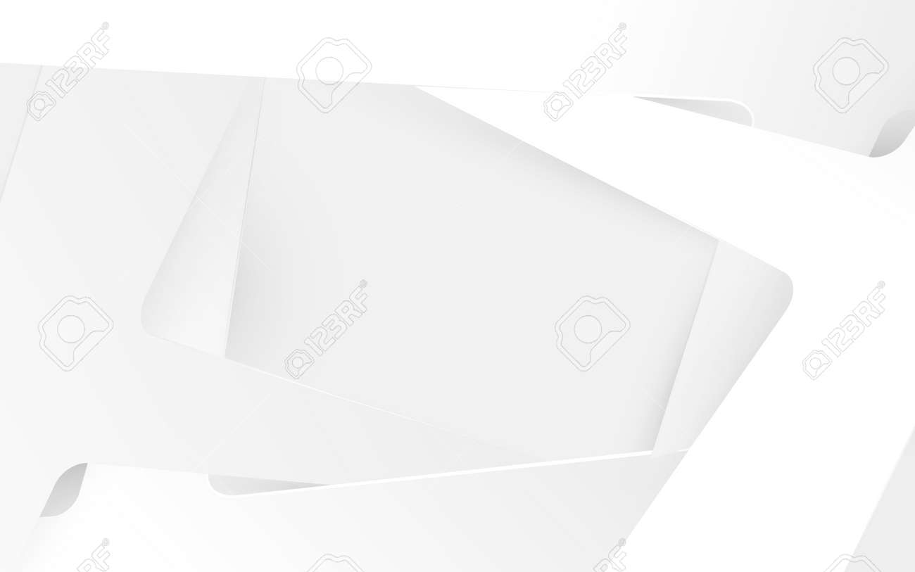 White abstract simple geometric structure shape overlay on the background. Vector illustration - 169445316
