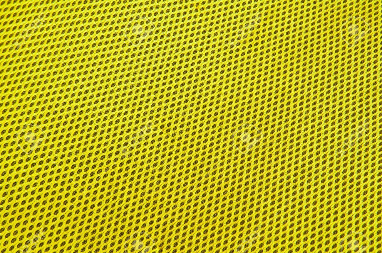 yellow polyester fabric - 11242897