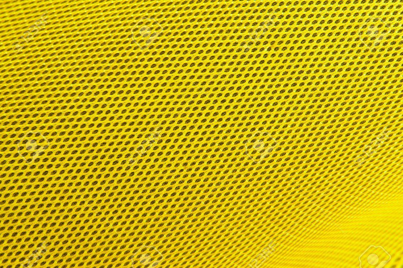 yellow polyester fabric - 11242893