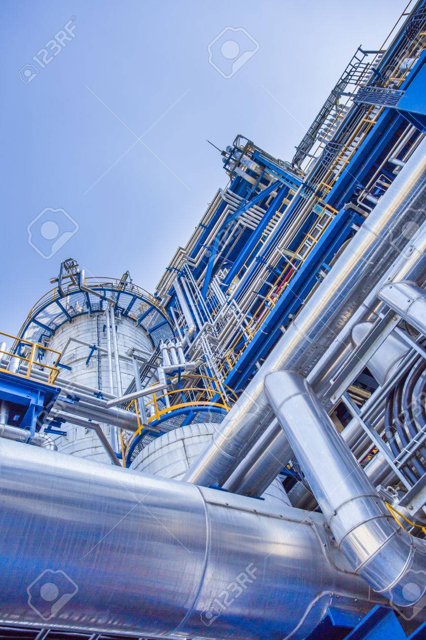 oil and chemical industrial factory - 41949536