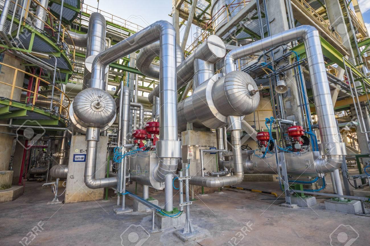 Heat exchanger in Refinery industrial factory - 41945842