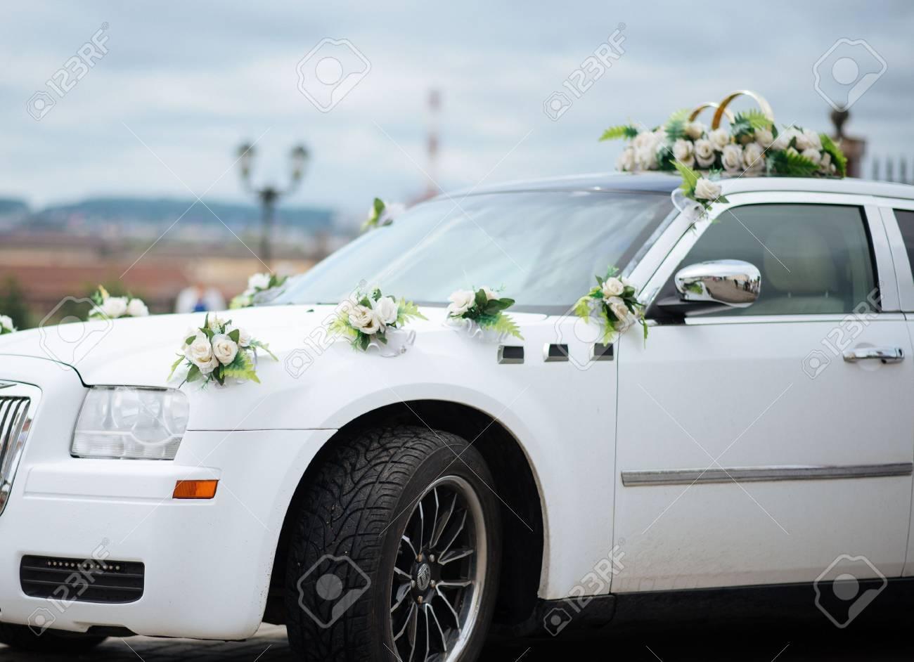 Hochzeit Auto Dekor Blumen Blumenstrauss Auto Dekoration Blumen
