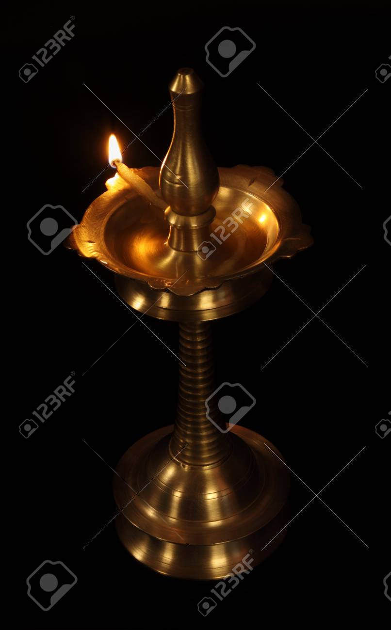 Indian Oil Lamp Stock Photo - 15123224