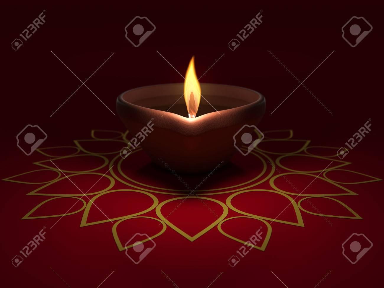 Lampe A Huile Traditionnelle Indienne Banque D Images Et Photos