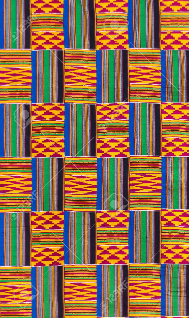 Kente Cloth Designs | Kente Cloth Texture The Traditional Garment Worn By Akans And