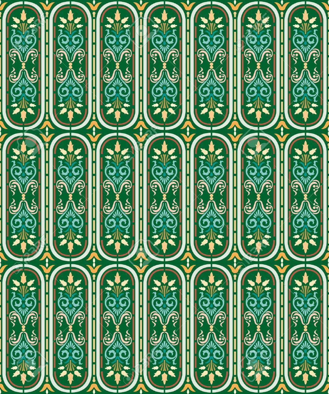 islamic pattern Standard-Bild - 4062291