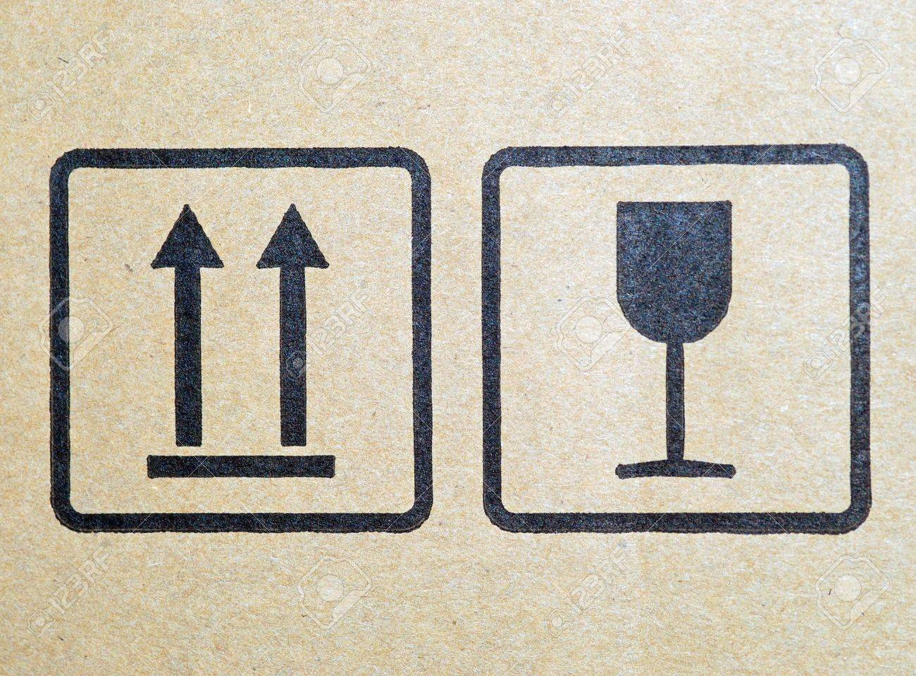 Carton Fragile Box Markings