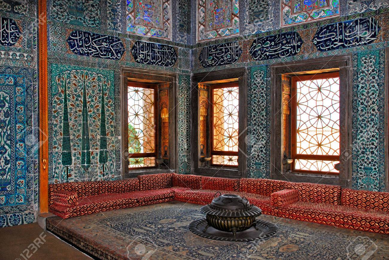 Stock Photo   Topkapi Palace Interior, Istanbul Turkey