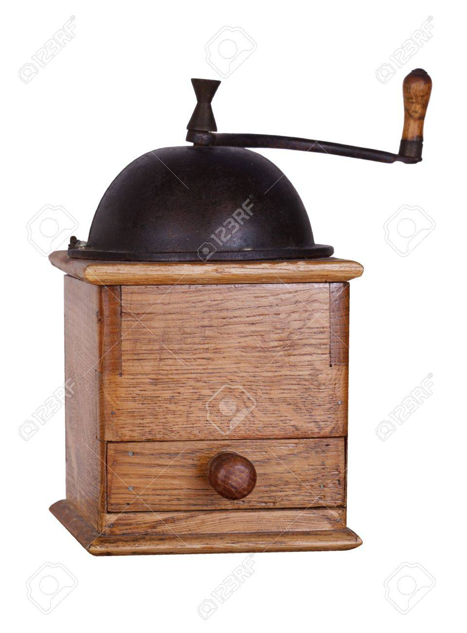 Vintage coffee mill Stock Photo - 18197017