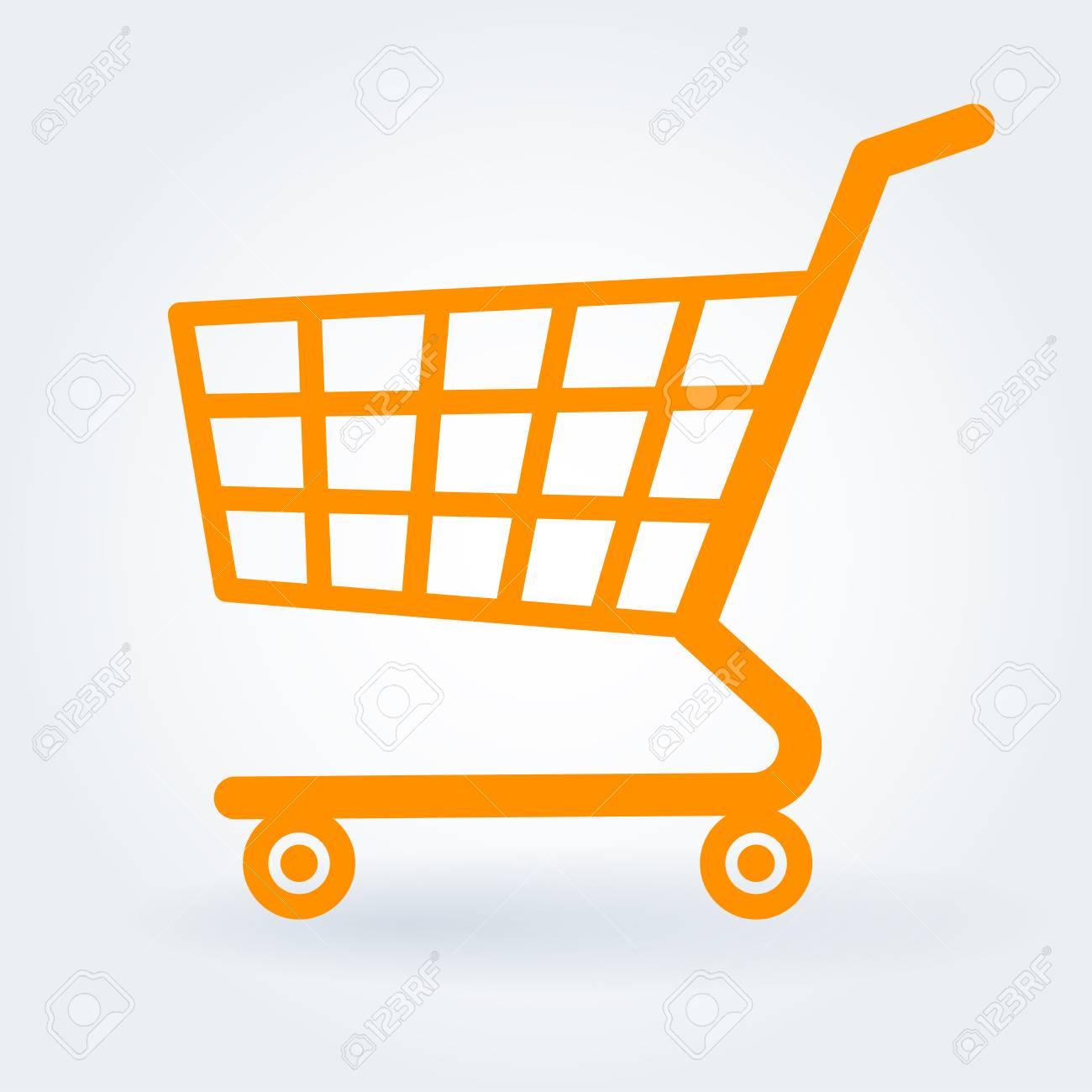 flat design shopping supermarket shop retail store cart vector rh 123rf com shopping cart vector free download shopping cart vector logo