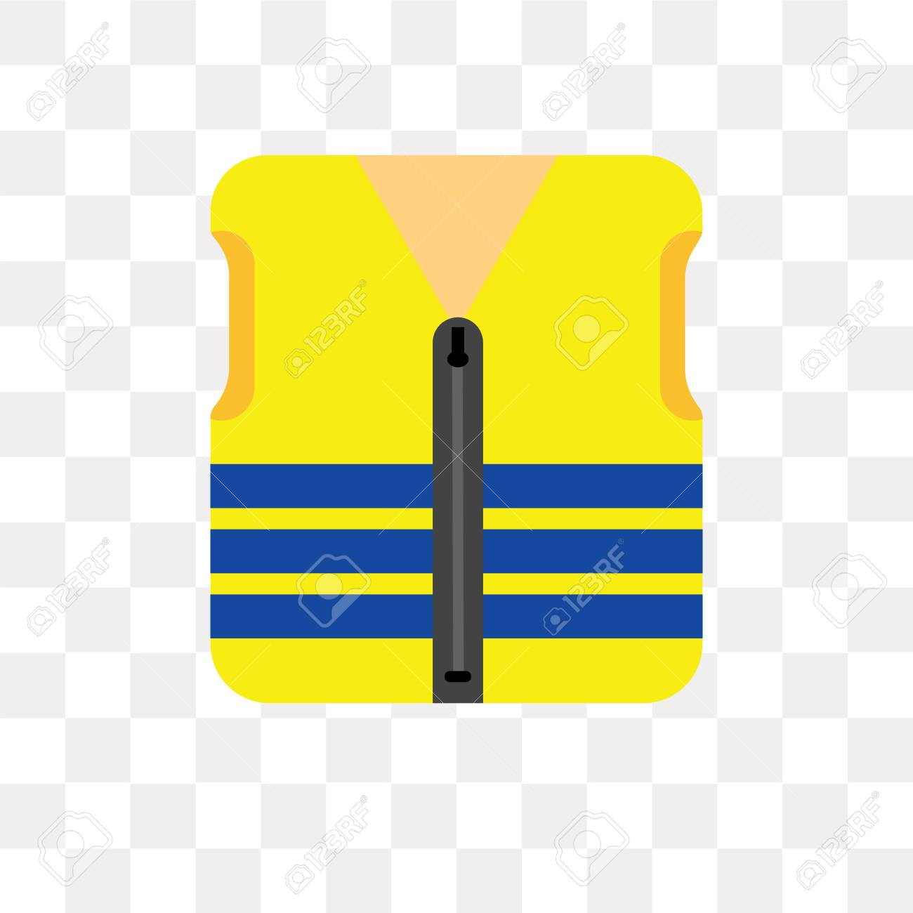 Life Vest Vector Icon Isolated On Transparent Background Life Royalty Free Cliparts Vectors And Stock Illustration Image 108182209