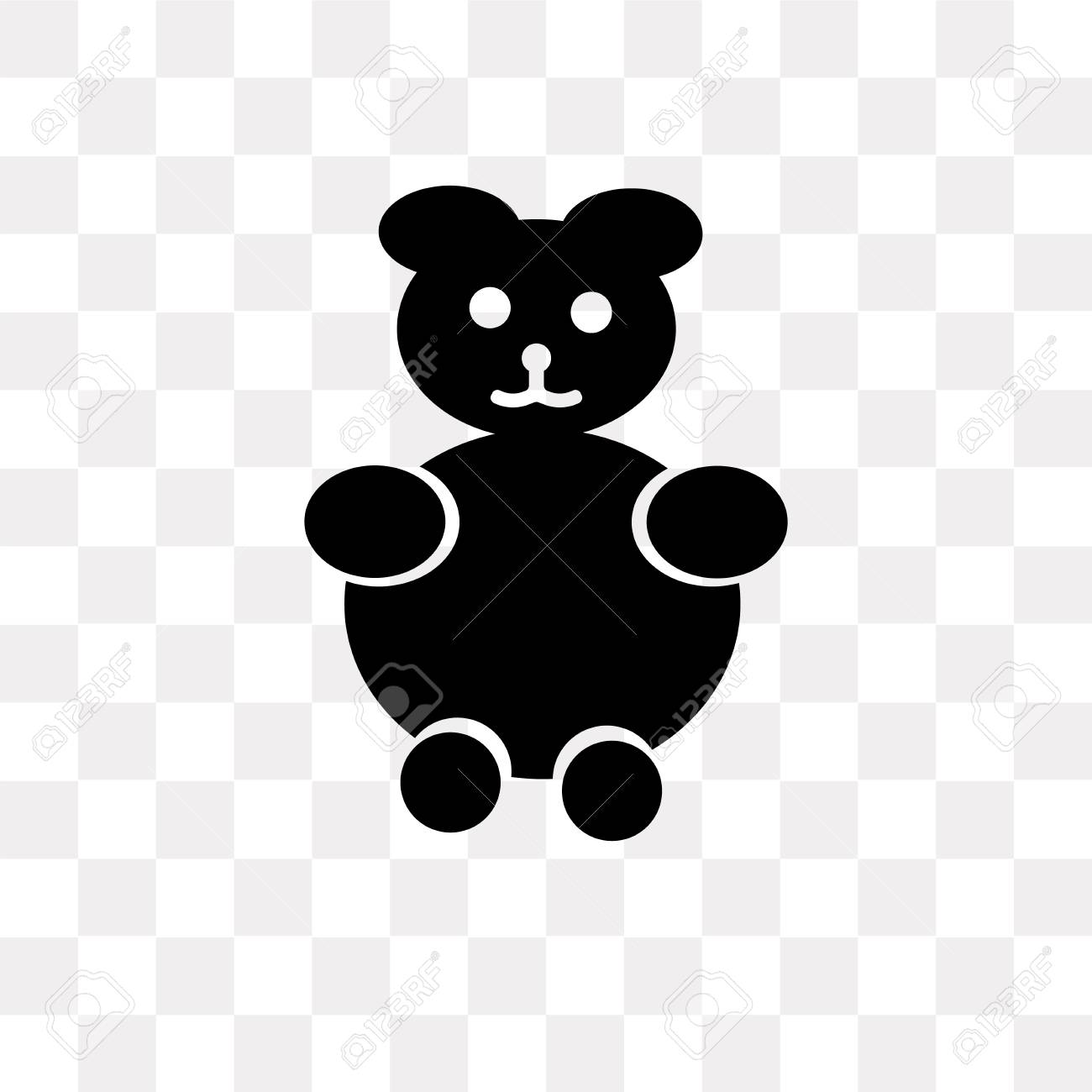 teddy bear vector icon isolated on transparent background teddy royalty free cliparts vectors and stock illustration image 107871315 teddy bear vector icon isolated on transparent background teddy
