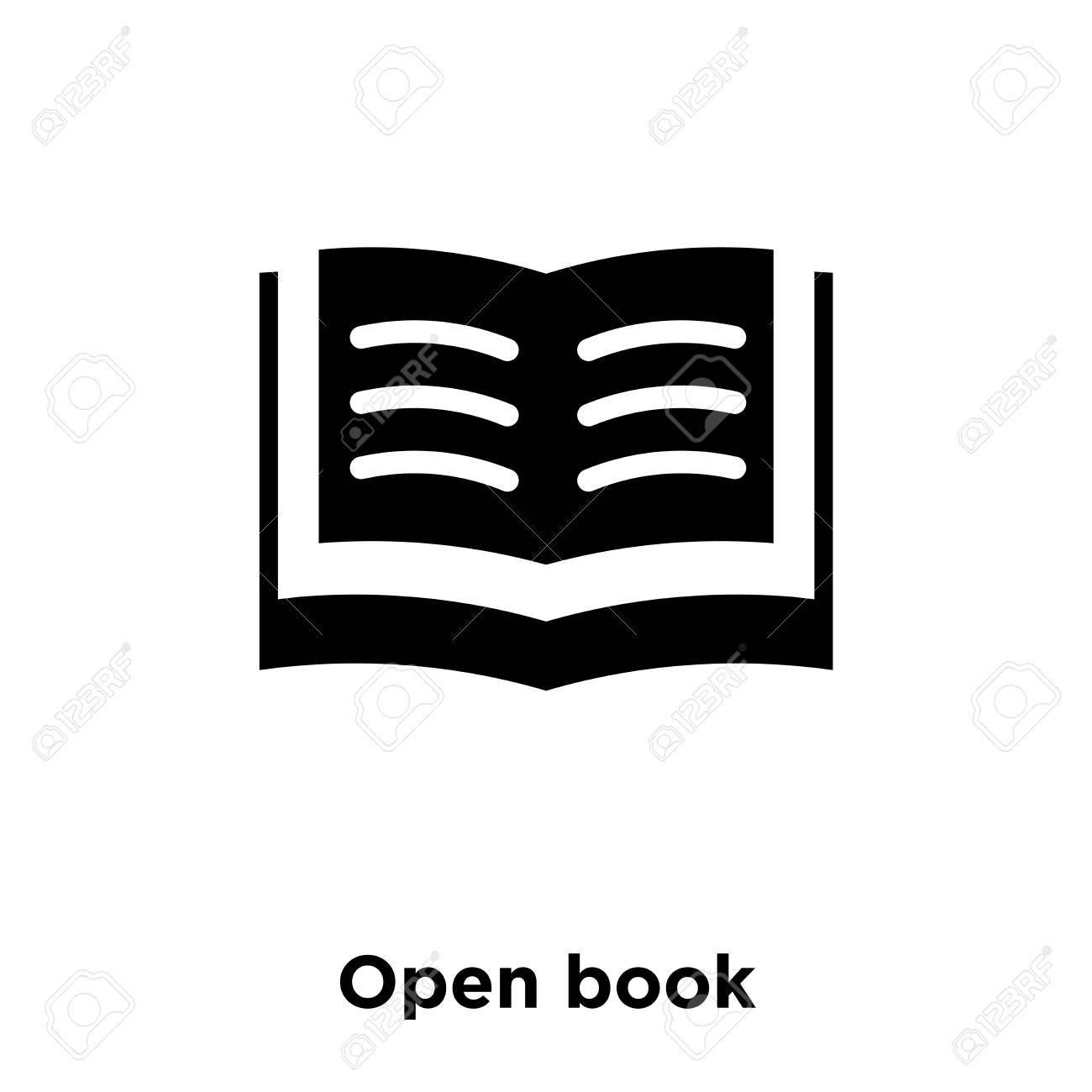 open book icon vector free