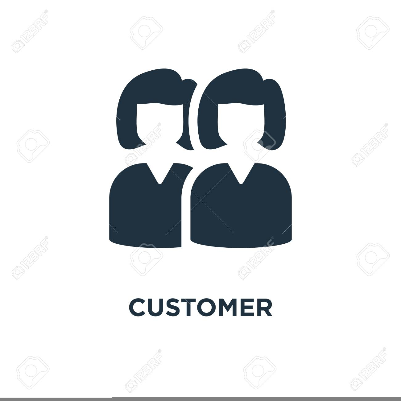 Customer Icon Black Filled Vector Illustration Customer Symbol Royalty Free Cliparts Vectors And Stock Illustration Image 112693095 Customer free icons and premium icon packs. customer icon black filled vector illustration customer symbol
