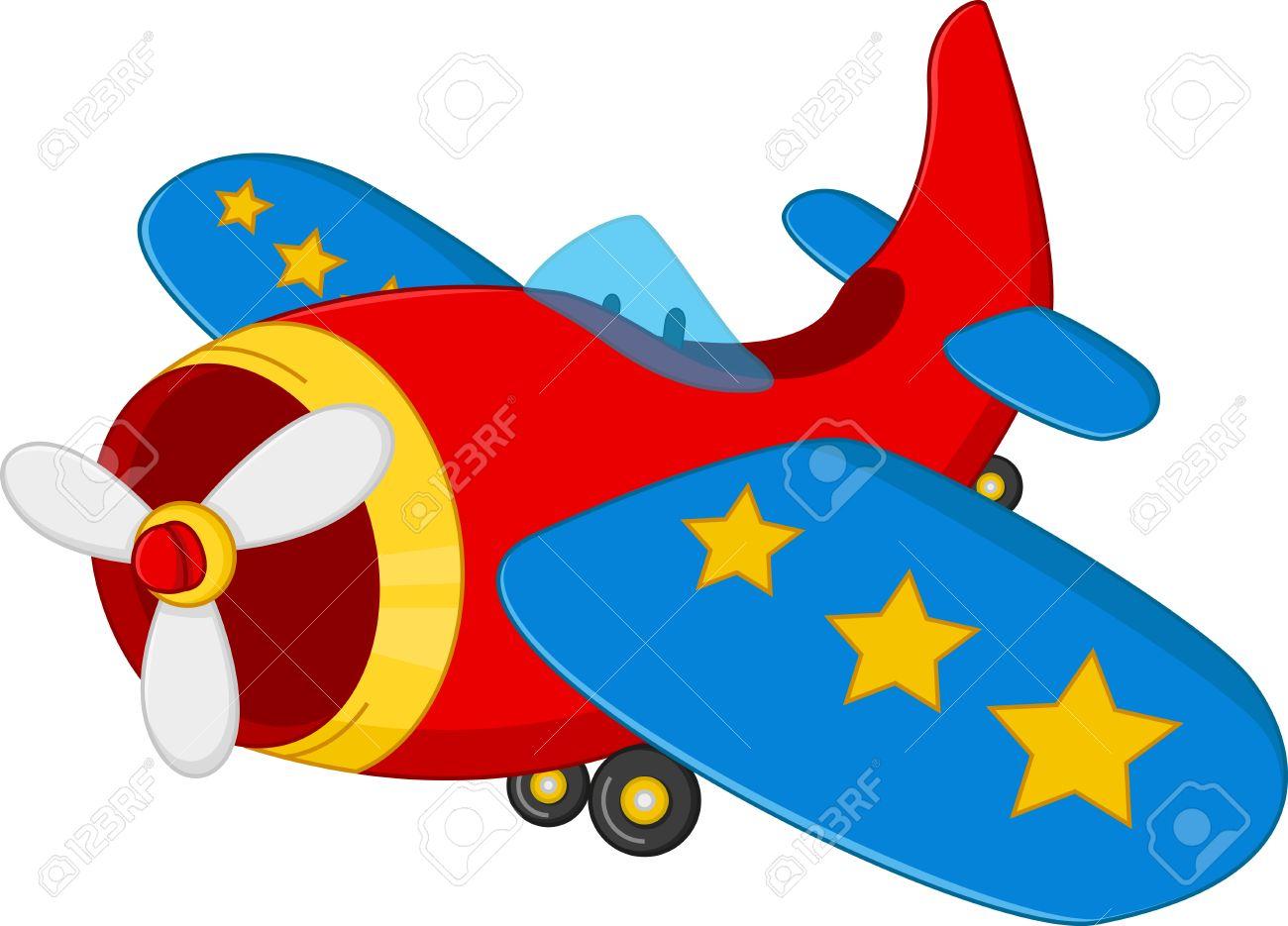 Cartoon Air Plane Royalty Free Cliparts Vectors And Stock