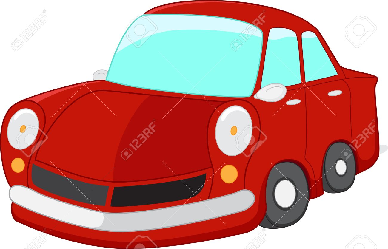 red car cartoon royalty free cliparts vectors and stock