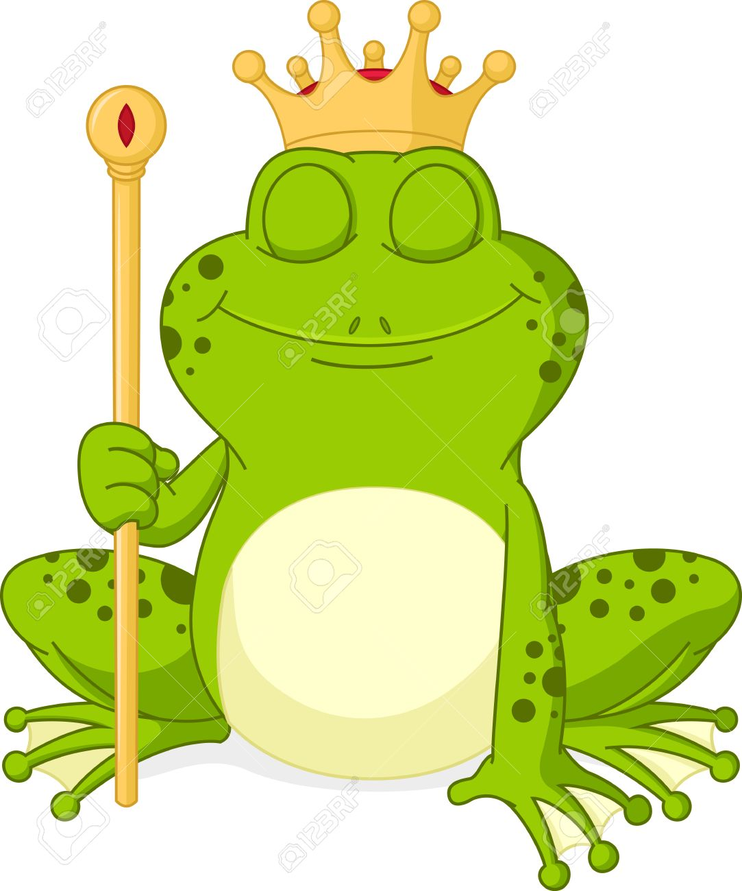Prince Frog Cartoon Royalty Free Cliparts, Vectors, And Stock ...
