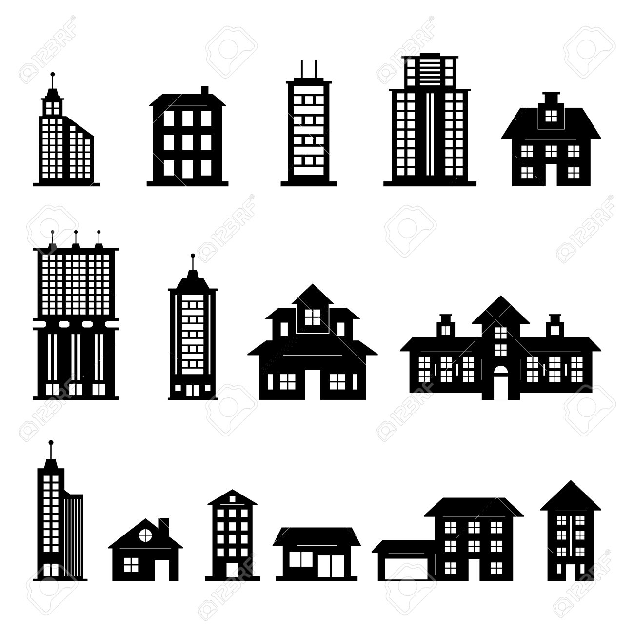 building vector royalty free cliparts vectors and stock rh 123rf com building vector background building vector logo