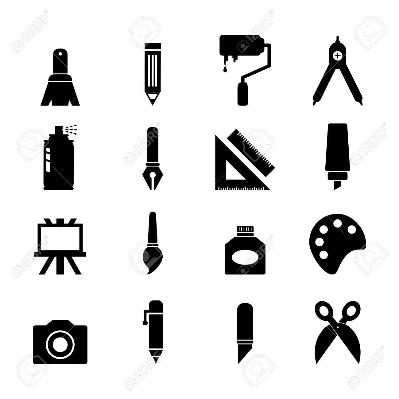 tool icon vector. art tool icon stock vector 30456256