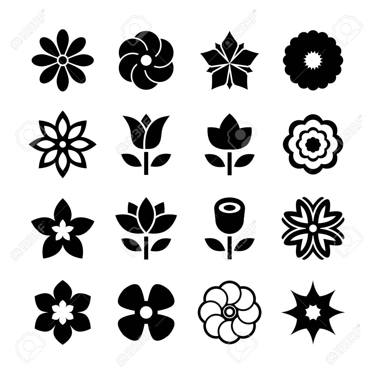 Flower icon - 138034074