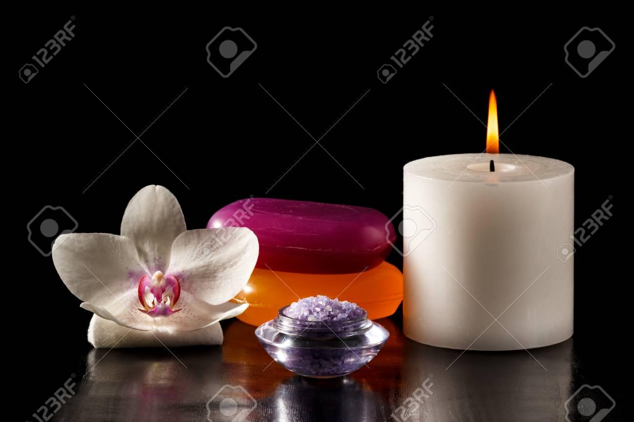 savon noir orchidee
