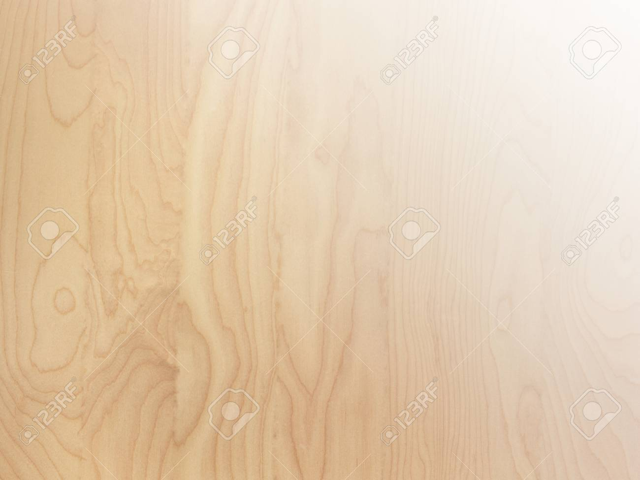 stock photo subtle light brown tan smooth birch wood grain abstract background surface with gradient